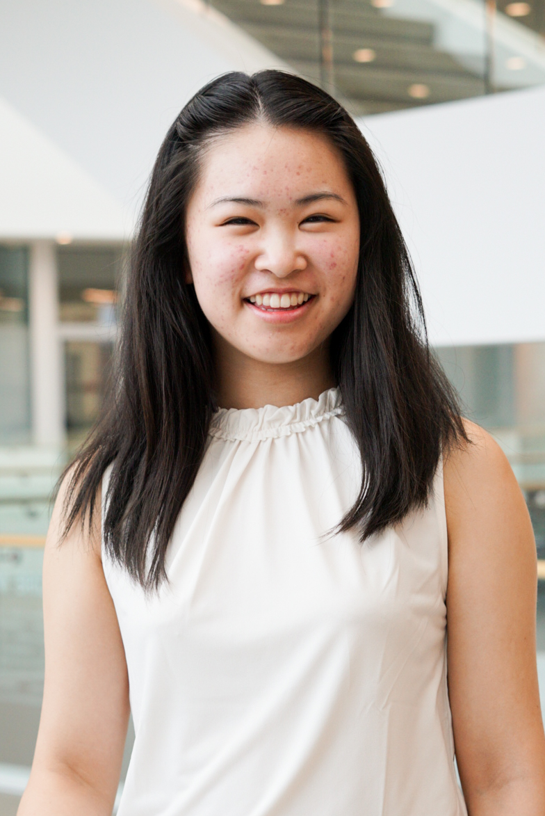 Student Body Vice President for Finance Candidate Clarissa Liang.