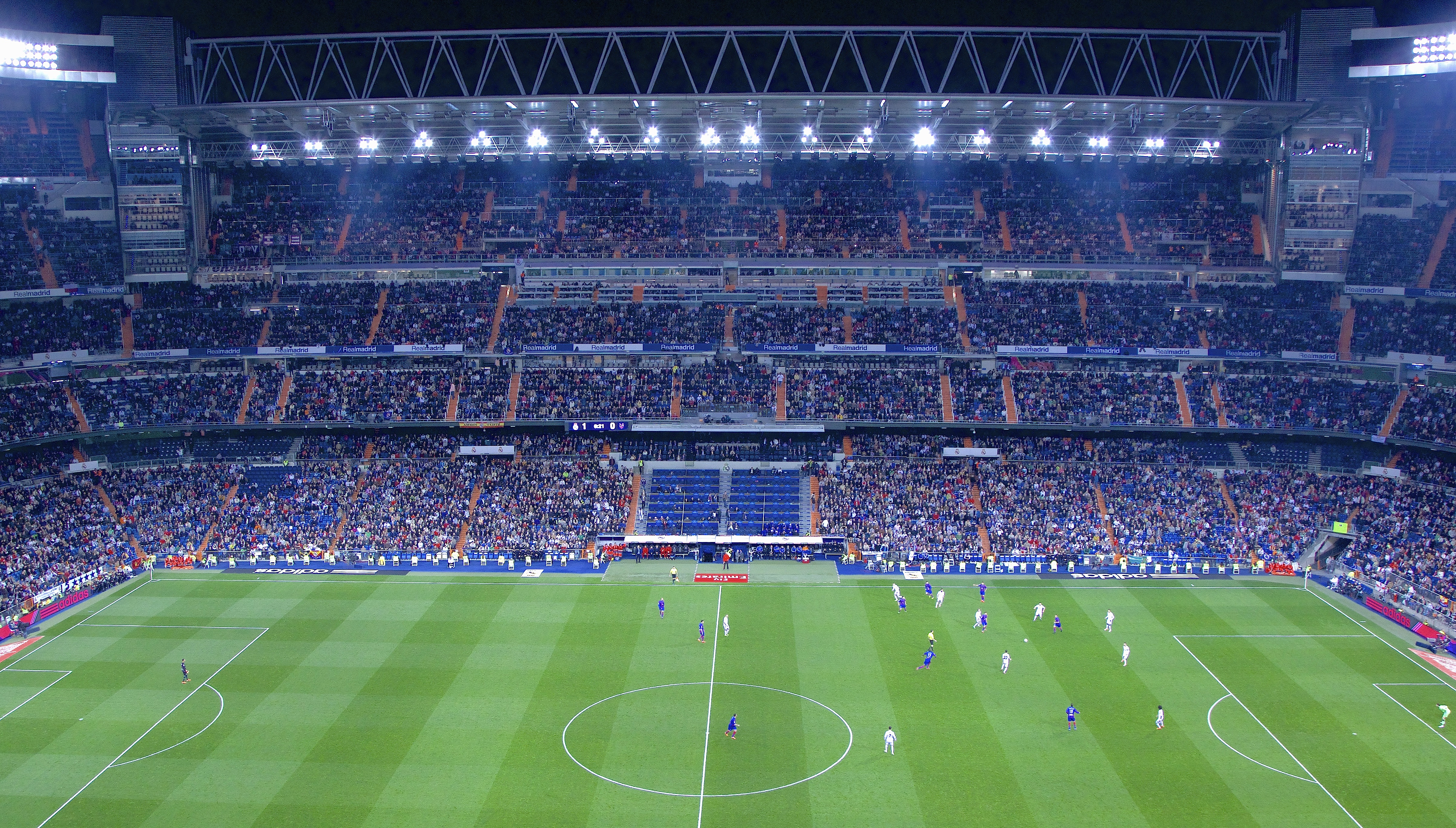 Being on home soil in the Estadio Santiago Bernabéu didn't help Real Madrid as they lost to Sheriff 2-1.